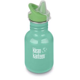 Klean Kanteen Kid Classic Bottle Sippy Cap 355ml Sea Crest